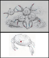 Magnemite, Magneton and Magnezone by yoult