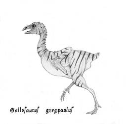 Gallosaurus gregpaulus by yoult