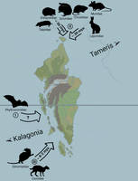 (ERODES) Major Mammal Faunal Invasions on Nonaless