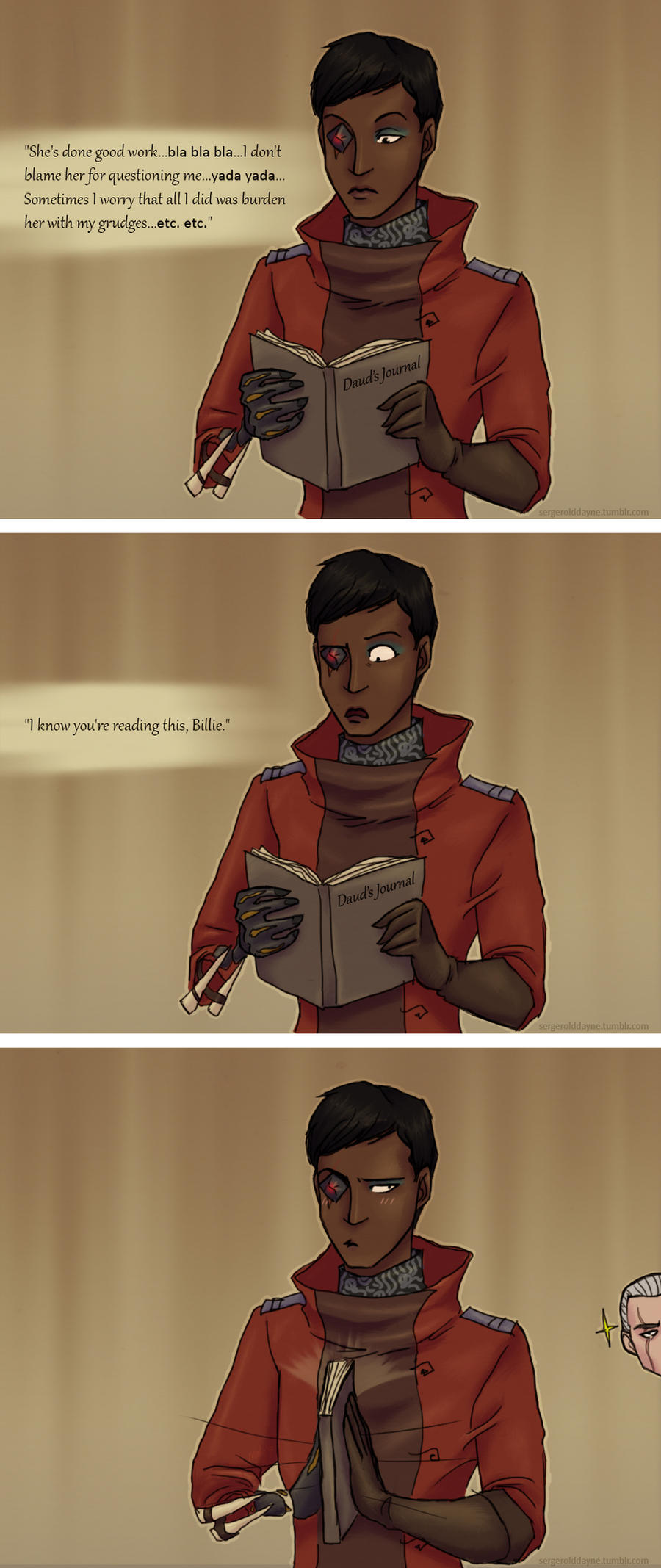Daud's Journal by lady-voldything