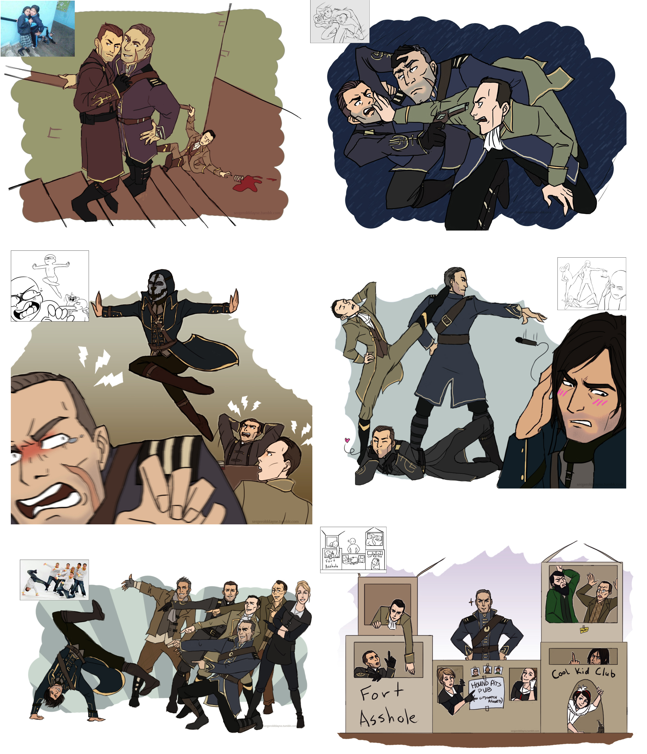 Draw the Squad meme - The Loyalists by lady-voldything
