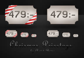 Christmas Pricetags by Arvid23