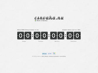 CSNVAKA.nu now live by Arvid23