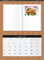 CSNvaka.nu - Calendar and Cooking book by Arvid23