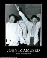 John Iz Amused by TheOriginalBeatleBug