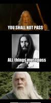U Mad, Gandalf?