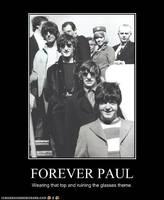 Forever Paul by TheOriginalBeatleBug
