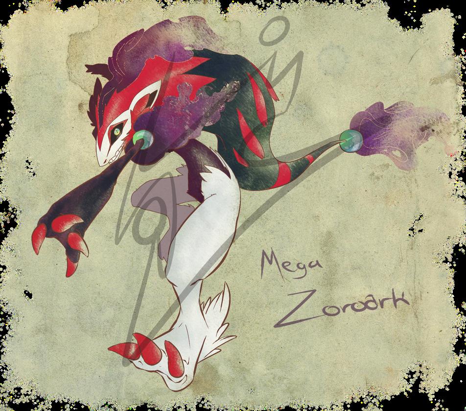Mega Zoroark by RoARk030