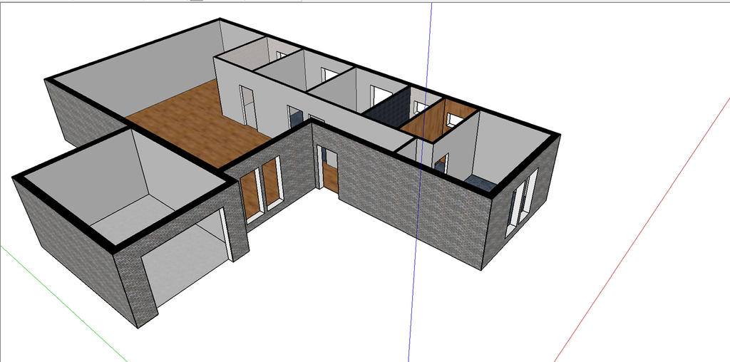 My Sketchup House! by u-yes-u-i-love-u