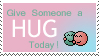 Hug Stamp by Dragonlady-Poho