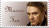 Marco Fan Stamp by Dragonlady-Poho