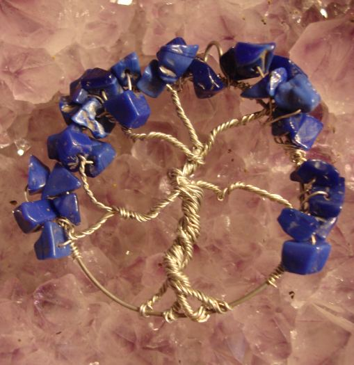 Tree of Life- Blue Lapis by evanescentdreams