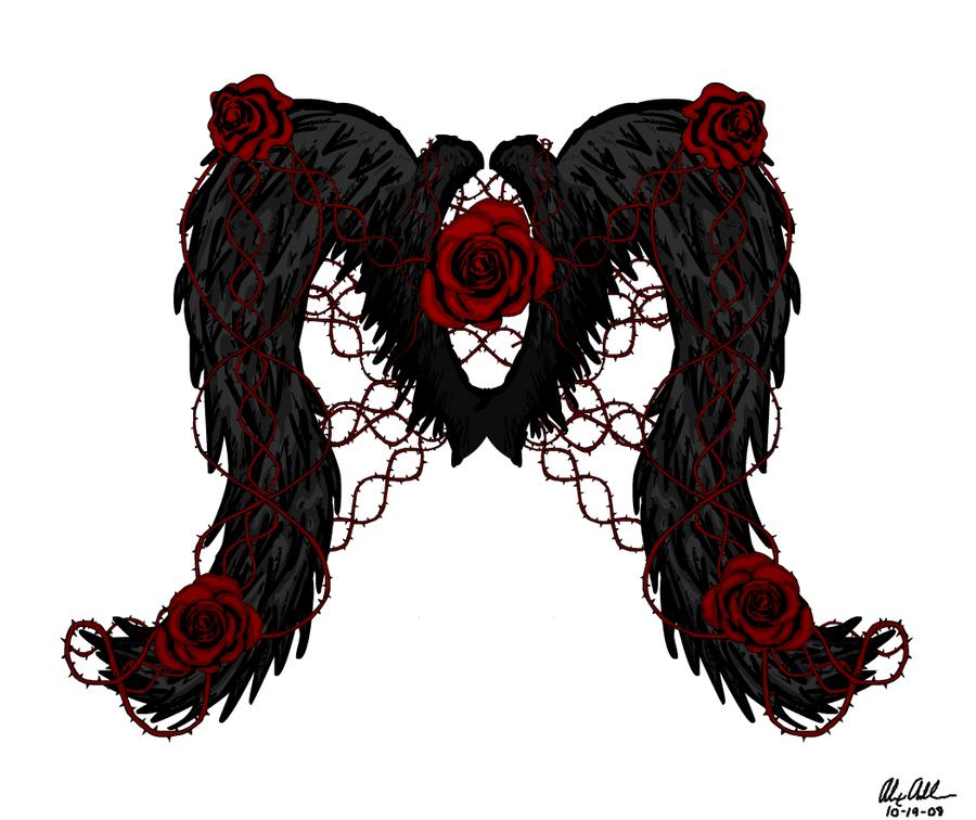 Wings of the Fallen by aka-bloodfang1