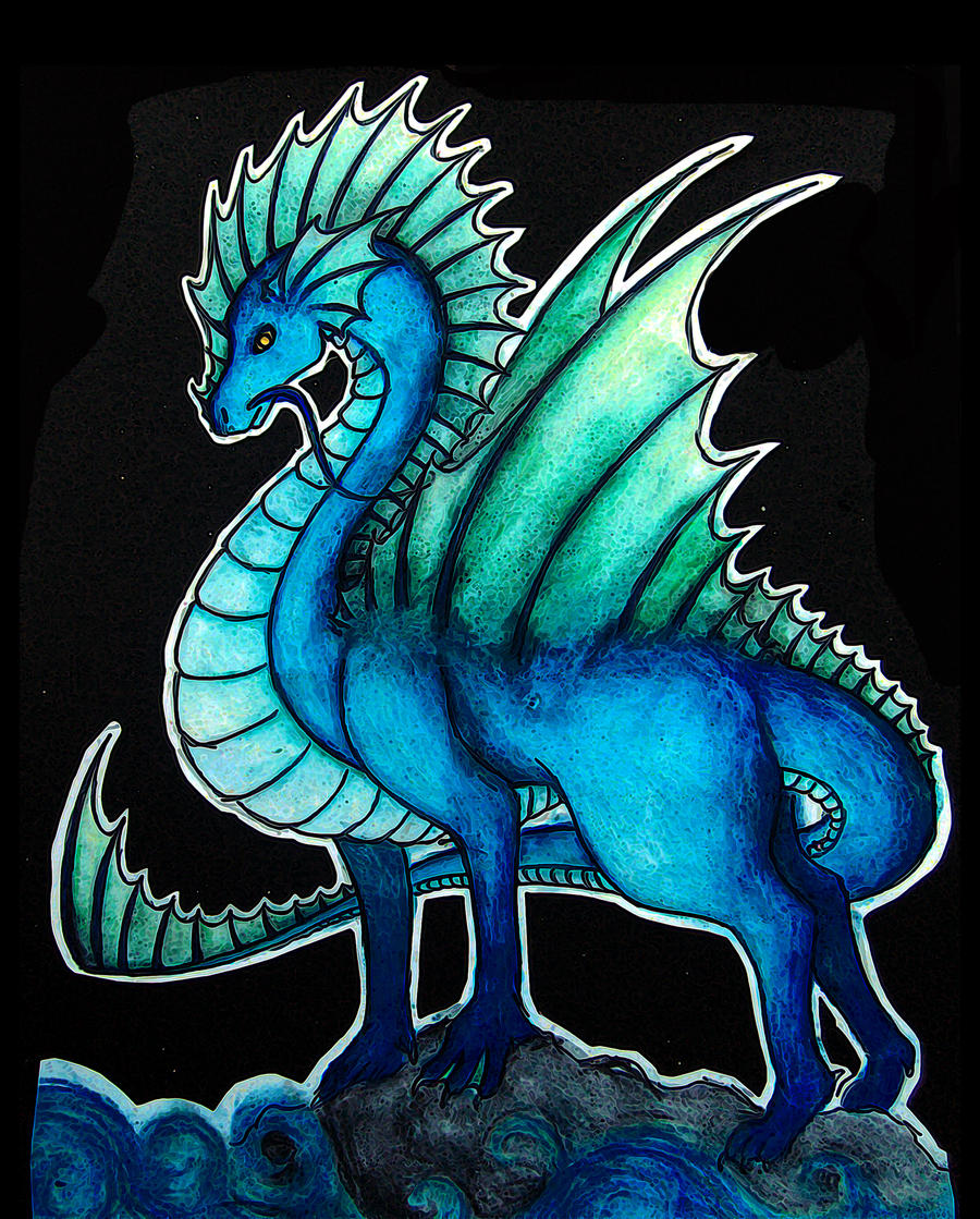 Water dragon by Volpenera94 on DeviantArt  Water dragon by...