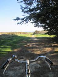 On my bike by Eilwenn