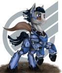 armor pony (request)