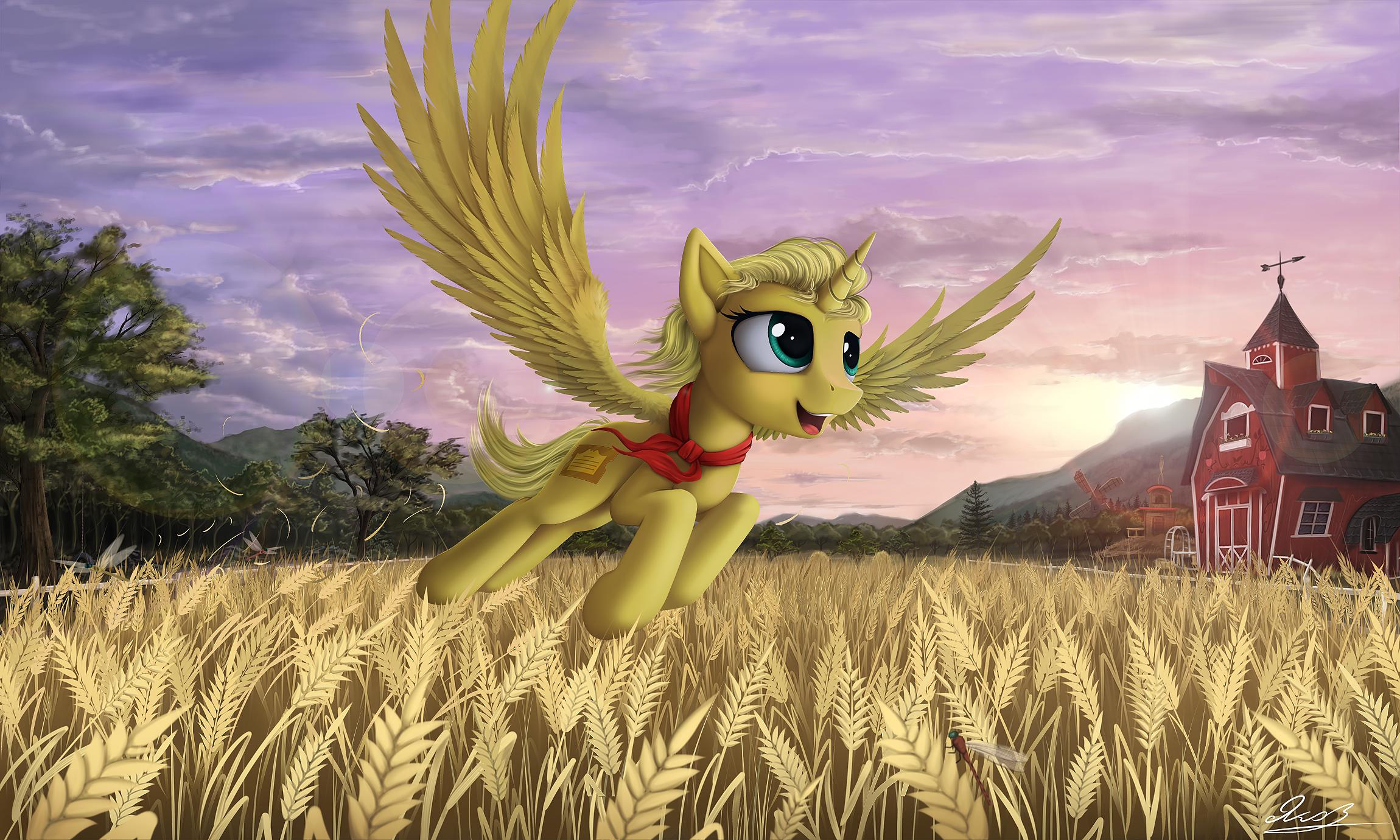 golden fields (commission)