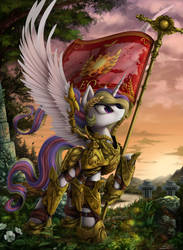 Empress of all of Equestria by Yakovlev-vad