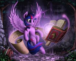 Twilight Sparkle by Yakovlev-vad