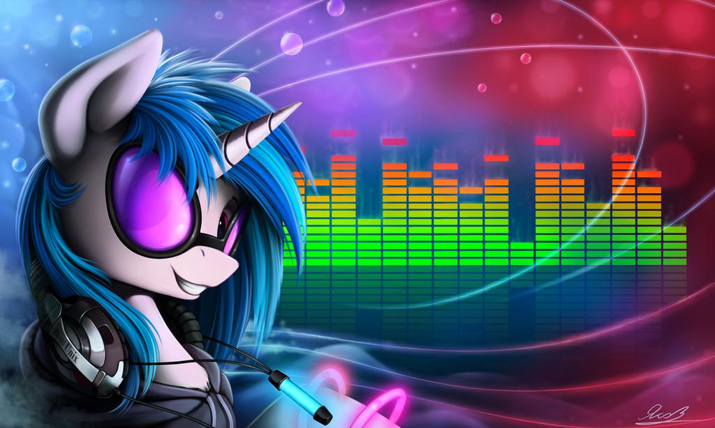 картинки с пони с музыкой