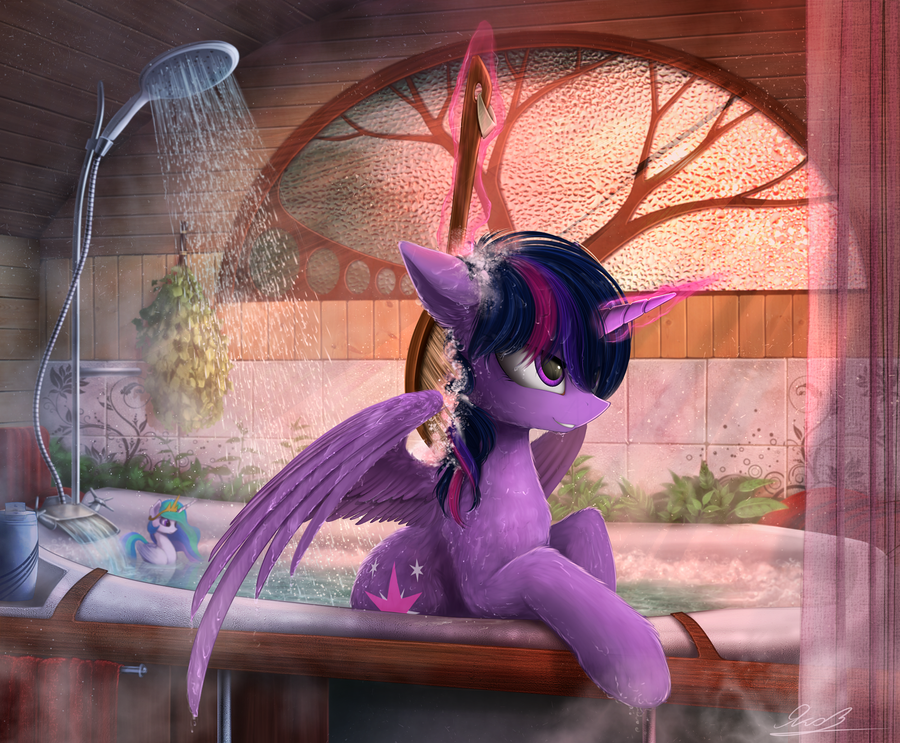 Time to wash :3 by Yakovlev-vad