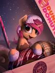 Donut pony (Patreon reward)
