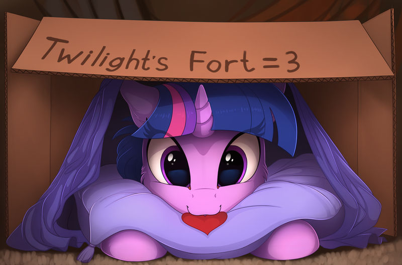 Twilight's fort =3 (Color sketch) by Yakovlev-vad