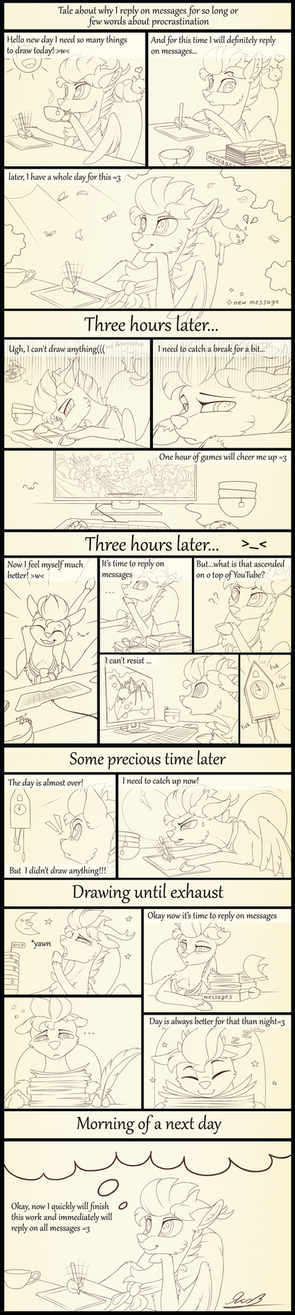 Attempt at comic #1 by Yakovlev-vad