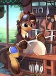 Blacksmith pony (Patreon reward)