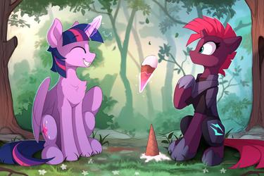 A bit of friendship for Tempest (Color sketch)