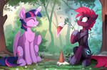 A bit of friendship for Tempest (Color sketch) by Yakovlev-vad