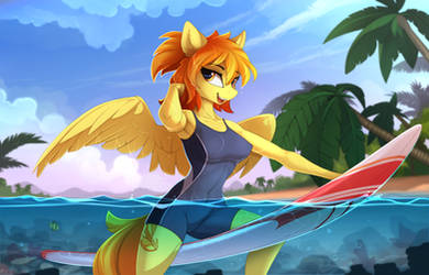 Anthro SpitFire by Yakovlev-vad