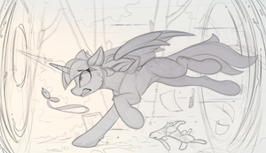 Twilight can't be late (Sketch) by Yakovlev-vad