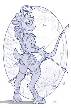 Archer concept Sketch