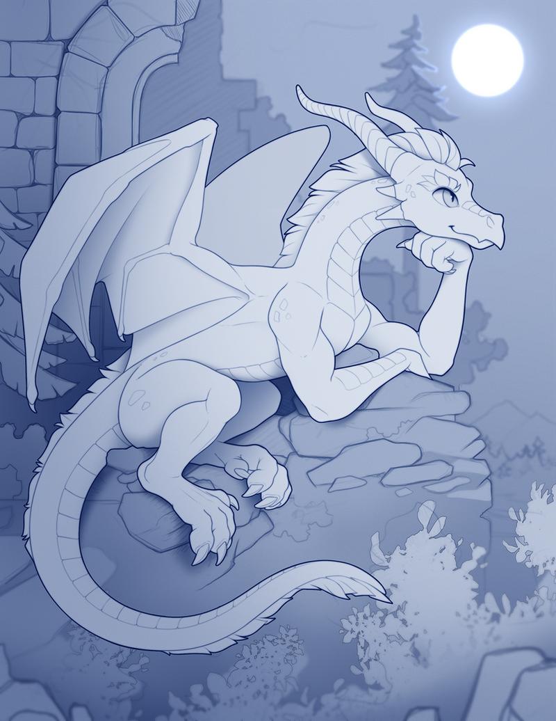 Dragon's thoughts (Patreon reward)