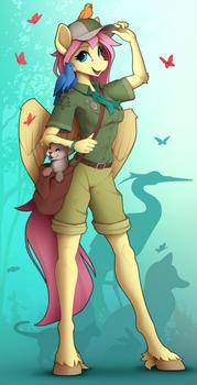 Zoologist Fluttershy