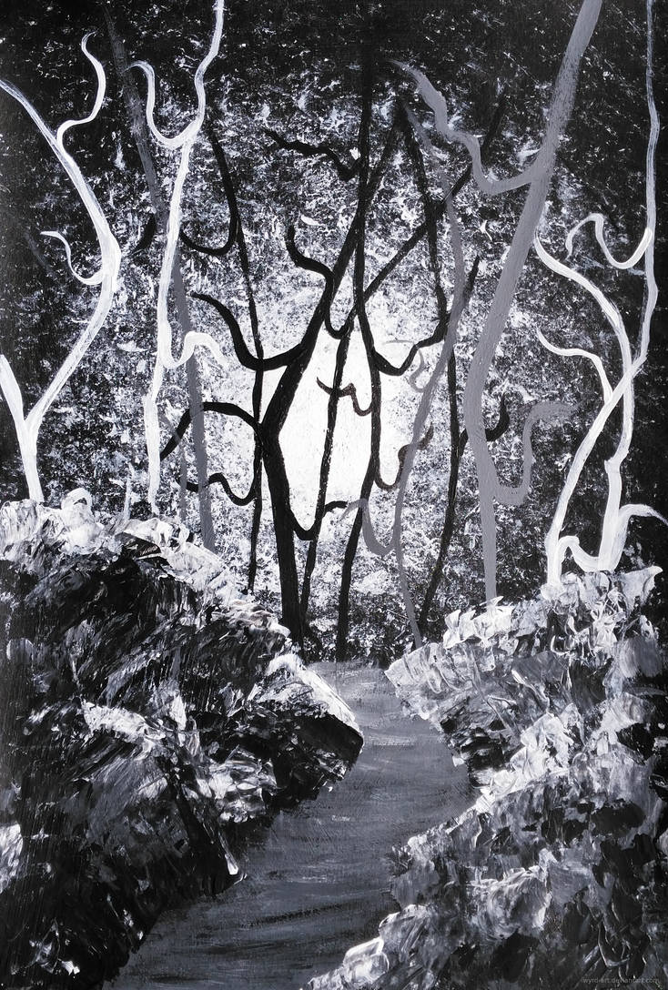 Path to the Tall Trees - 2 by wyrd-art