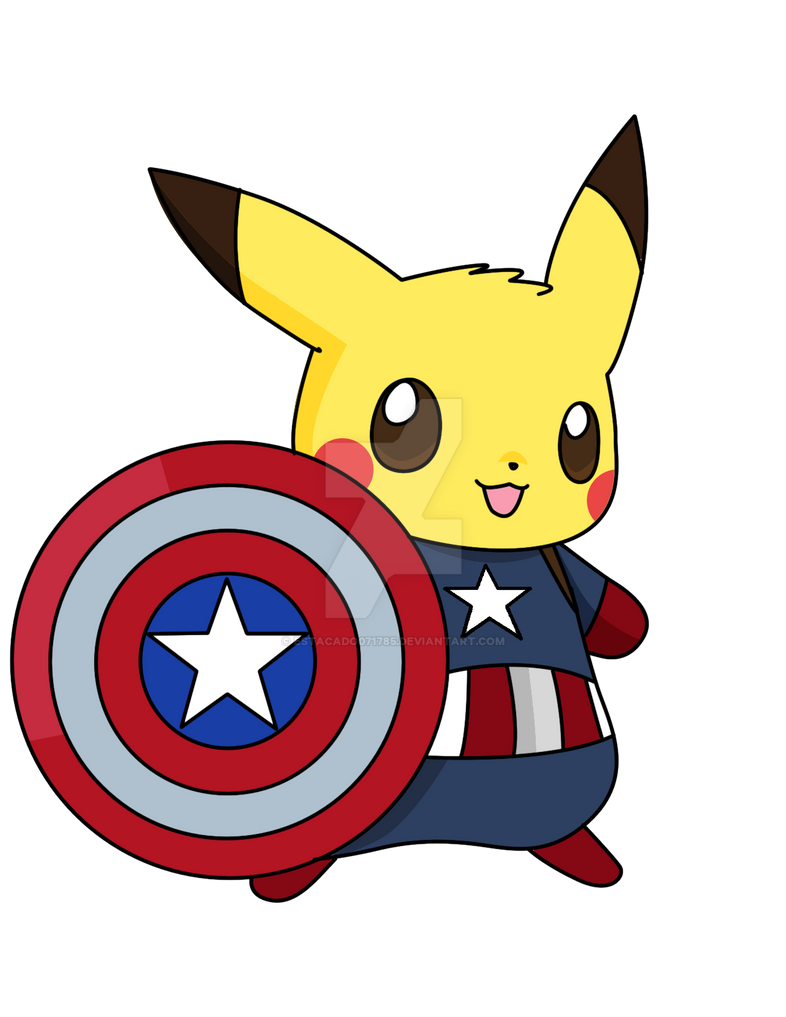 Captain Pikachu By Estacado071785 On Deviantart