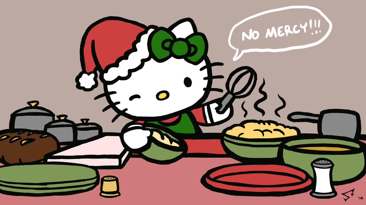 Hello kitty 39 s extreme christmas combat cuisine by for Cuisine hello kitty