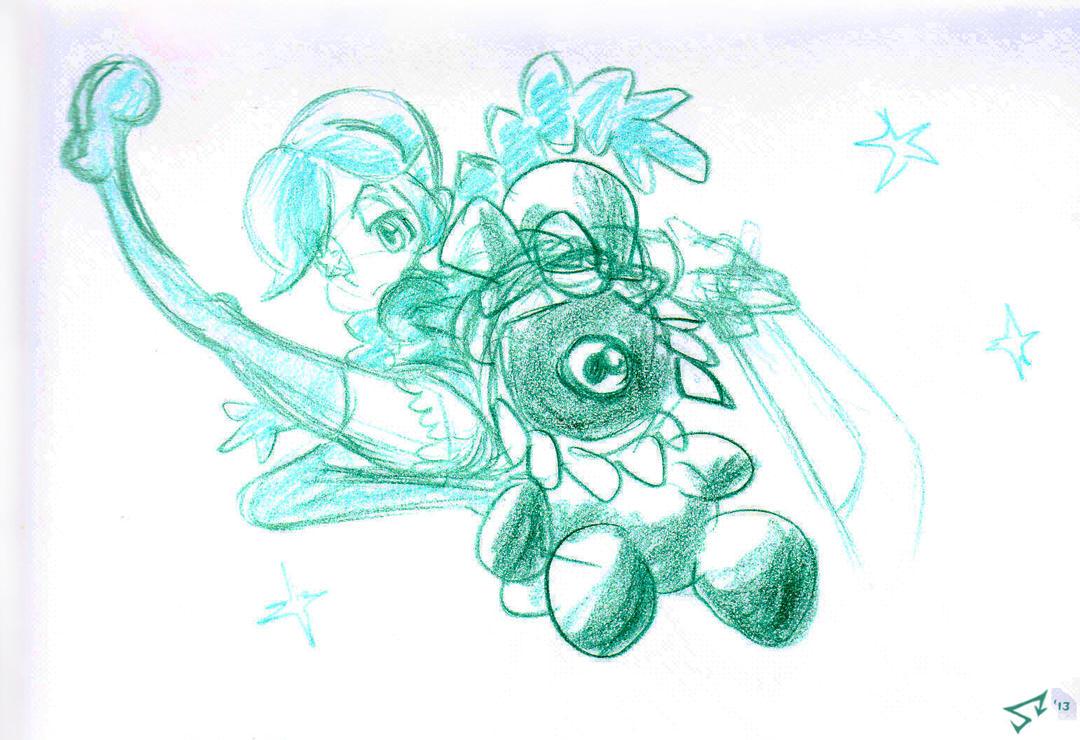 Skullgirls: Annie and Sagan by southpawper