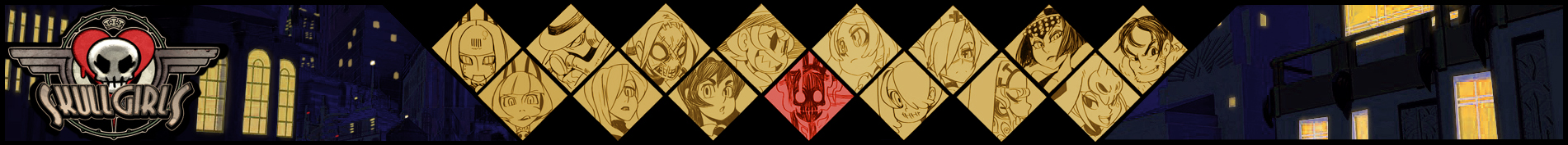 Skullgirls Banner by southpawper
