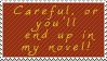 Novel Stamp by SprntrlFAN-Livvi