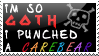 Goth stamp by SprntrlFAN-Livvi