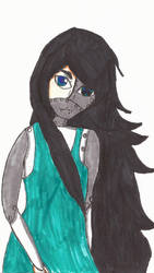 Asami my oc  In a New Style by Zeroice1