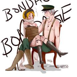 Bondage by WhiteFlameSoul