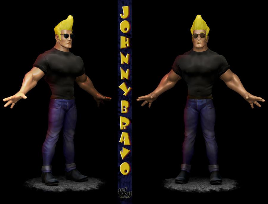 JOHNNY BRAVO !!! by RBN-sama