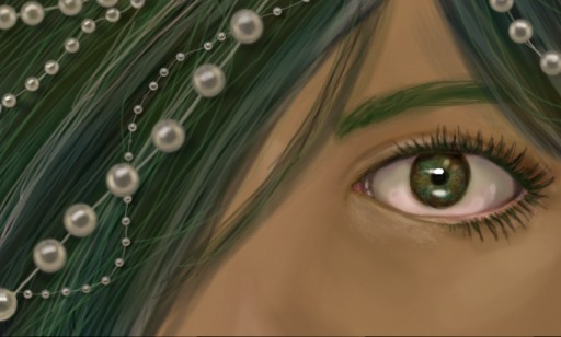 Pearls and the Green Sea by Vite-Seul
