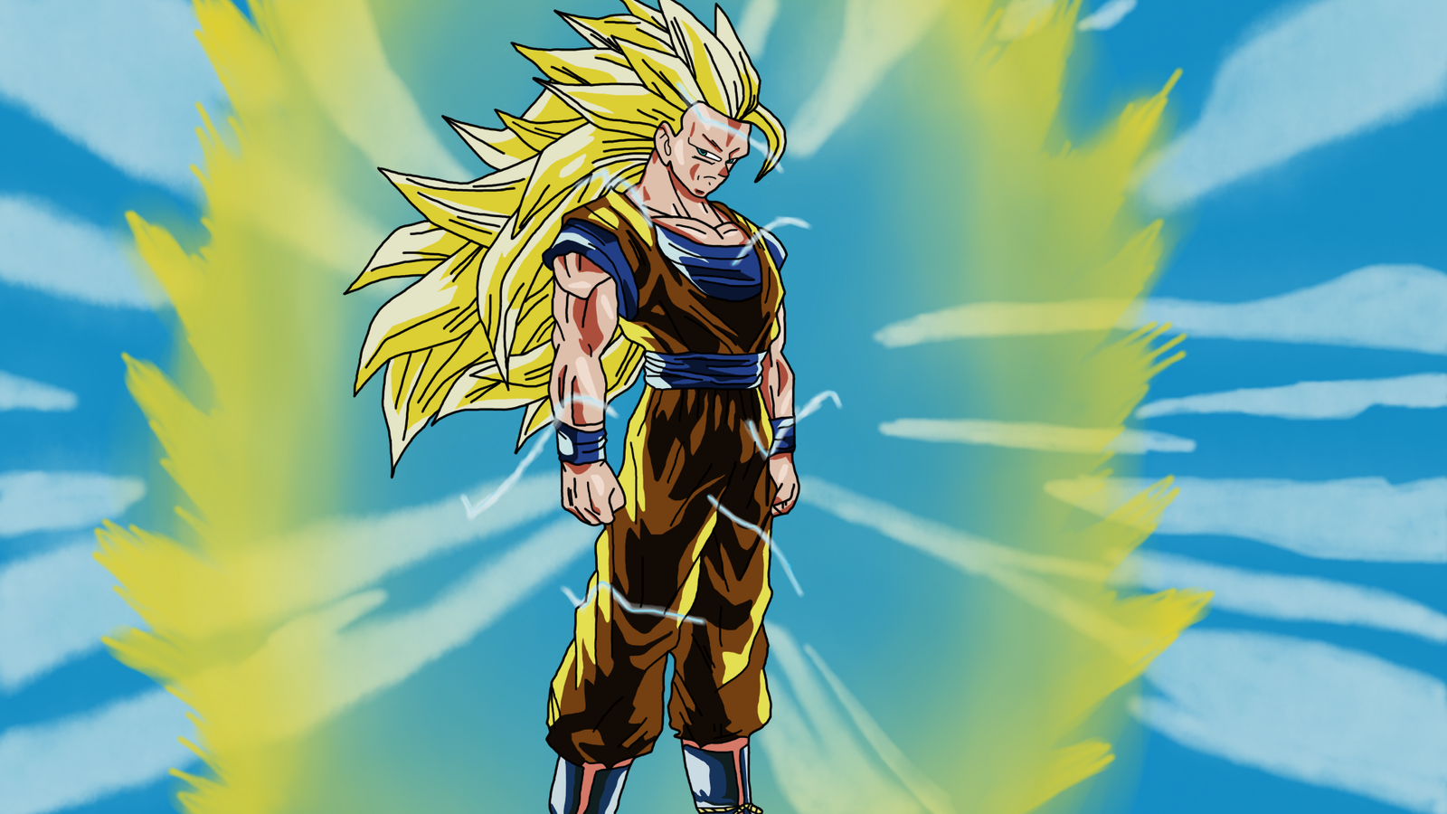 Super Saiyan 3 Goku Transformed By DragonBallAffinity