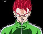 SSJ God Gohan Track Suit Fukkatsu no F
