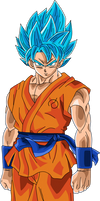 SSJGod SS Goku by DragonBallAffinity